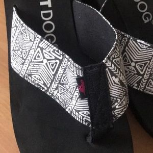 Rocket Dog Shoes - 1 hr SALE NWOT Rocket Dog Wedge flip flops